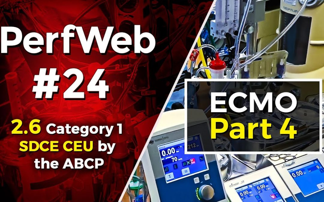 Concepts in ECMO, ECMO and Survival, anticoagulation Management – Part 4